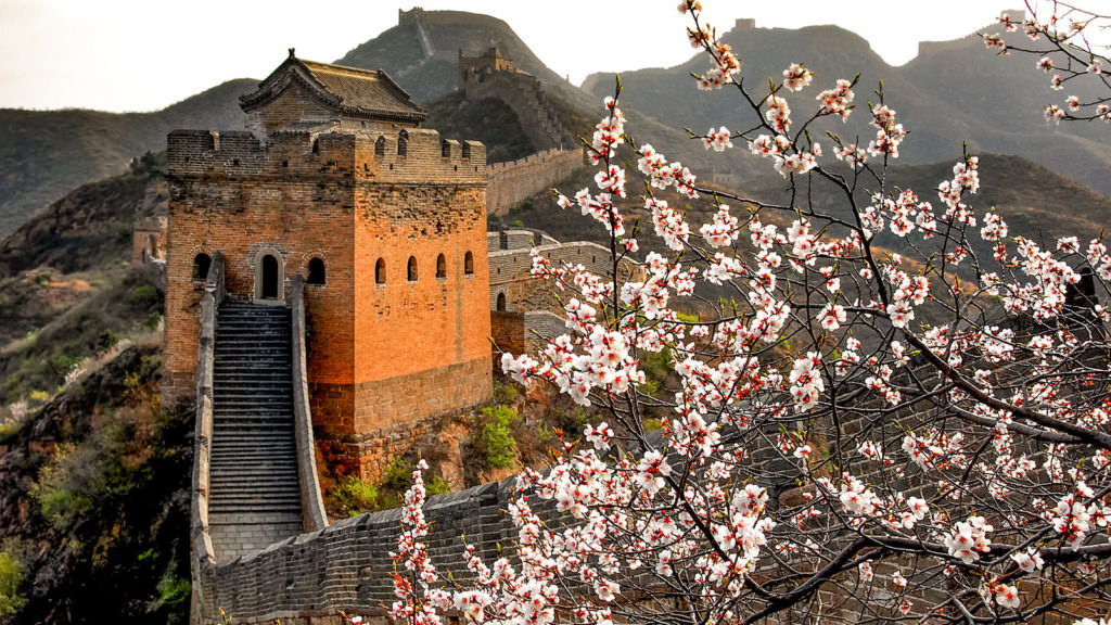 Great wall study in china