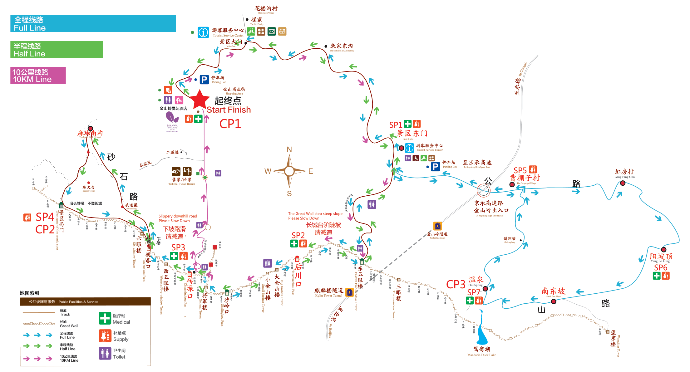 2019 Course Map